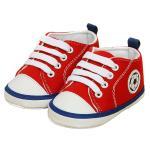 รองเท้าเด็ก รองเท้าหัดเดิน แซมบ้า สีแดง