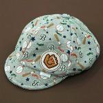หมวกเด็ก แก๊ป ถุงมือเบสบอล (เทา)