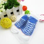ถุงเท้าเด็ก รุ่นพรีเมี่ยม สั้นบาง Converse (น้ำเงิน)