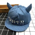 หมวกเด็ก พรีเมี่ยม แก๊ปยีนส์ Super (อ่อน)