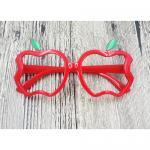 แว่นเด็ก แฟนซี แอปเปิล แดง