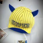หมวกเด็ก แก๊ป Super (เหลือง)