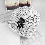 หมวกเด็ก แก๊ป Monster (ขาว)