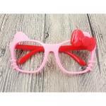 แว่นเด็ก แฟนซี คิตตี้ ชมพู-แดง