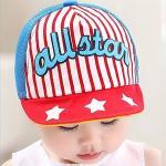 หมวกเด็ก แก๊ป All Star (แดง)