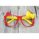 แว่นเด็ก แฟนซี คิตตี้ แดง