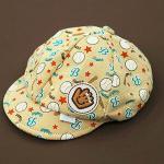 หมวกเด็ก แก๊ป ถุงมือเบสบอล (น้ำตาล)