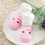 ถุงเท้าเด็ก ข้อเท้าหนา รูปสัตว์ (นก)