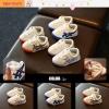 Baby Touch รองเท้าเด็ก รองเท้าพื้นแข็ง ทรงผ้าใบ โอนิซัง (Shoes - FHO1)