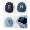 Baby Touch หมวกเด็ก พรีเมี่ยม แก๊ปยีนส์ตัวอักษร H (Hat - AO)