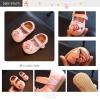 Baby Touch รองเท้าเด็ก รองเท้าพื้นแข็ง แซนเดิล กุหลาบ (Shoes - FHG2)