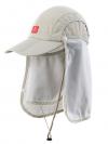 Nature Hike   Sun Shading Quick Dry Folding Cap with protective face mask (Khaki)