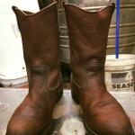 Red wing 1178 work boot size 10E เดิมๆ ราคา 2700