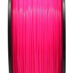 เส้นพลาสติก PLA สีแดงกุหลาบฟลูออเรสเซนต์1.75mm/1 kg (ยาว 350m)