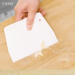 ที่ตัดแป้งพลาสติกขาว / Dough Scraper Cutter