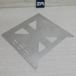 Aluminum Y Plate V2 for Prusa i3 3D Printer 200x200mm