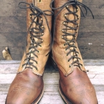 Chippewa packer boots usa size 9EE