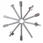 "Cutter Milling Fits Dremel Rotary 1/8"" 3mm ชุด10 ตัว"