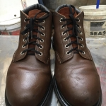 RED WING 8215 Safety หัวเหล็ก size 10E