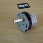 12V DC Geared Metal Motor 7RPM High Torque