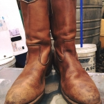 Vintage RED WING Safety bootหัวเหล็ก ป้ายข้าง ยุค90 size 11