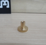 Brass adjustable draw fixed screw nut M3