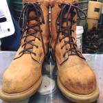 .Red wing work boot หัวไม่เหล็กนะครับ size 8Dp