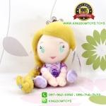 ตุ๊กตา เจ้าหญิงราพันเซล Rapunzel ท่านั่ง 6 นิ้ว [Disney Princess]