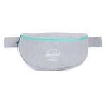 Herschel Sixteen Hip Pack - Light Grey Crosshatch / Lucite Green