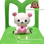 ตุ๊กตา KoRilakkuma อุ้มหัวใจ ท่านั่ง 9 นิ้ว [San-X]