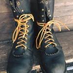 Wesco king of boot the job master smoke jump boots size 9.5B หัวไม่เหล็ก สวย เดิมๆ 6500