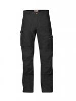 Fjällräven - กางเกงเดินป่าเดินเขารุ่น Barents Pro Trousers - Black