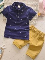 เสื้อยืดและกางเกง เกาหลี (โปโล)