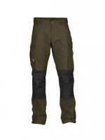Fjällräven - กางเกงเดินป่าเดินเขารุ่น Vidda Pro Trousers Regular - Dark Olive
