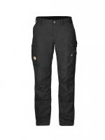 Fjällräven - กางเกงเดินป่าเดินเขารุ่น Barents Pro Trousers W - Black
