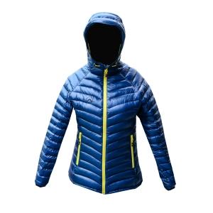 KAEMP8848 DOWN JACKET FOR WOMEN (Sisapangma) เสื้อขนเป็ดสำหรับ -10 ถึง -15 องศา - TURQUOISE