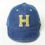Baby Touch หมวกเด็ก พรีเมี่ยม แก๊ปยีนส์ตัวอักษร H (Hat - AO) thumbnail 7