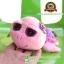 ตุ๊กตา เต่า TY สีชมพู หลังกุหลาบ 17 CM [TY Inc] thumbnail 1