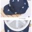 Baby Touch หมวกเด็ก พรีเมี่ยม แก๊ปยีนส์ หนวด (Hat - ABD) thumbnail 5