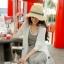 หมวกทรงCampaign สีครีม ONE SIZE thumbnail 4