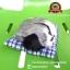 ตุ๊กตาหมานอนหลับ สีเทา [เบาะฟ้า] 13x17 CM thumbnail 4