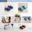 Baby Touch รองเท้าเด็ก รองเท้าพื้นแข็ง ทรงผ้าใบ สลิปออน (Shoes - FHV1) thumbnail 1