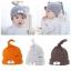 Baby Touch หมวกผ้านิ่ม หมีผูกจุก (Hat - FK) thumbnail 1