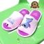 รองเท้าพื้นบาง สติชสีชมพู [Disney] thumbnail 2