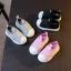 Baby Touch รองเท้าเด็ก รองเท้าพื้นแข็ง ทรงกีฬา ไม่มีเชือก (Shoes - FHA2) thumbnail 2