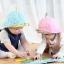 หมวกเด็ก ปีกรอบ พรีเมี่ยม จุกดอกไม้ (Hat - DO) thumbnail 3
