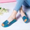 SK02 รองเท้าหนังนิ่ม (หนังวัว) ลายดอกไม้ใหญ่ Size 37