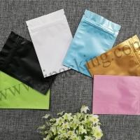 ซองฟอยล์ซิปล็อค ก้นแบน หลากสี (Foil Flat Pouch with Zipper)