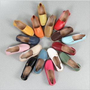 SK03 รองเท้าหนังนิ่มสวมแบบเรียบ SIZE 35-44