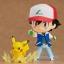 (เหลือ 1 ชิ้น รอเมล์ฉบับที่2 ยืนยัน ก่อนโอน) Nendoroid Ash & Pikachu (PVC Figure)
